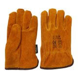 Pleins gants de gestionnaires de cuir de l'hiver de garniture de Thinsulate