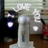 Ventilador Handheld del regalo LED del día de tarjeta del día de San Valentín mini (3509)