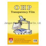 Impresora láser OHP Transparencia de la película / papel de copiadora / impresora de inyección de tinta