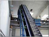 Ленточный транспортер портативная пишущая машинка мешка зерна высоты регулируемый