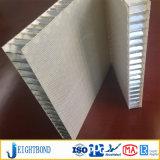 Panneau en aluminium de nid d'abeilles de la fibre de verre pp avec le panneau en bois