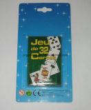 관례에 의하여 인쇄되는 작은 타로 카드 갑판
