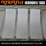 Etiket van de Sticker RFID van de douane het Passieve UHF Zelfklevende Lege Geschikt om gedrukt te worden