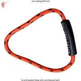 Hot Selling Engrave Soft PVC Zipper Pull Slider para pano (YH-ZP018)