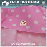 150d DTY rosafarbene Punkte druckten Oxford-Gewebe für Beutel