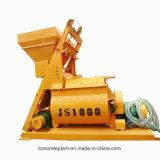 Mezclador de hormigón automático Js1000 de alta calidad para el programa Constrution