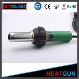 Pistola di plastica verde della saldatura dell'aria calda della pistola di calore