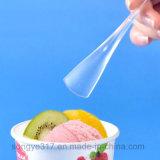 Лопаткоулавливатель пластмассы мороженного PS ясный