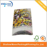스티커 (QYCI15202)를 가진 주문을 받아서 만들어진 Kraft 종이 베개 포장 종이상자