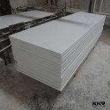 Superficie solida acrilica pura bianca di Corian del ghiacciaio di Kkr