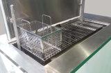 Gespannen Industriële Ultrasone Wasmachine met Grote Volument en Pneumatisch Opheffend Platform