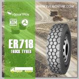 système du pneu 13r22.5/pneus à quatre roues pneus sauvages de pays avec l'extension étiquetant Inmetro