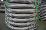 Boyau à haute pression de métal flexible de Brading de fil
