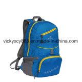 Double sac se pliant imperméable à l'eau de sac à dos de sport de mémoire d'épaule d'achats (CY3703)