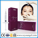 Reyoungel Cross Linked Hyaluronic Acid Dermal Filler Injection para Reduzir Rugas