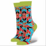 Personalizar o seu próprio design meias Jacquard vivas