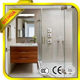glace Tempered de sûreté de 4mm-19mm pour la pièce de douche/salle de bains