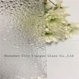 Vidrio de molde / vidrio impreso / vidrio figurado / vidrio modelado / vidrio laminado con la ondulación del agua para la decoración