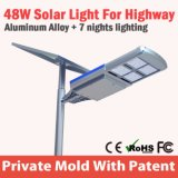 Luminaires intégrés Luminary Hybrid Solar Street Light Road Lamp