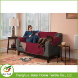 Polyester Kaffee Haustiere Deluxe Reversible Sofa Möbel Protector