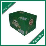 Caixa de papelão de cerveja de 24 garrafas