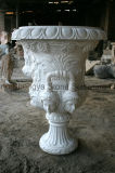 POT di marmo bianco dell'europeo della piantatrice