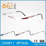 Blocco per grafici di titanio senza orlo leggero di vetro ottici di Eyewear del monocolo con la cerniera (5007) - C