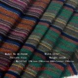 A roupa de algodão de fios de poliéster de Rayon tecido tingidos para Vestir calça