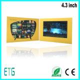 """4.3 """" giocatore di affari dello schermo di pollice HD/IPS video per la vendita calda"""