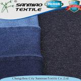 Cotone pesante dello Spandex della saia dell'indaco di modo che lavora a maglia il tessuto lavorato a maglia del denim per gli indumenti