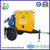 Pompe auto-amorçante d'irrigation à grande écoulement sans obstruction