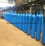 Cilindro de gás de alta pressão, tubos de aço sem sondas de oxigénio no cilindro de gás