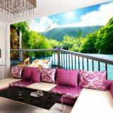 Papier peint d'impression de Digitals d'horizontal de nature de photo pour la décoration à la maison