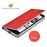 C&T lederner Telefon-Kasten-Standplatz-Folio-Kippen-Mappen-Kasten-doppelte Schicht-Deckel mit Kartenhalter für iPhone 7