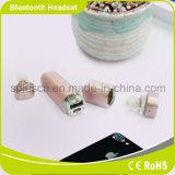 L'orecchio stereo puro vero senza fili germoglia il trasduttore auricolare blu del dente con il microfono