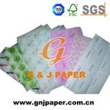 Tecido impresso personalizado papel para embalagem de oferta