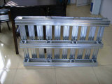 A armazenagem de paletes de aço galvanizado para racks de armazém