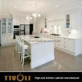 Armadi da cucina neri del progettista per gli appartamenti secondo la vostra disposizione Tivo-0176h