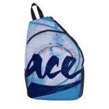 Mini-Ginásio Bag Branco sobre o saco de ombro sacos de linga de bosques e florestas