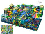 Apparatuur van de Speelplaats van het Ongehoorzame Vermaak van het Kasteel van het Stuk speelgoed van jonge geitjes de Binnen (BJ-IP101)