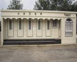 Cabine portative de toilette de chantier