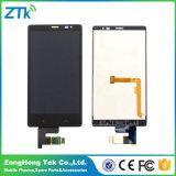 Tela LCD do telefone grossista para o Nokia X2 digitalizador de toque LCD duplo SIM