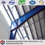 Capannone prefabbricato dei velivoli della struttura d'acciaio del blocco per grafici del metallo di Sinoacme