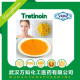 Poudre de dermatologie acide de vitamine A/ La trétinoïne CAS 302-79-4
