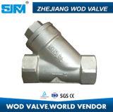Valvola di ritenuta femminile dell'oscillazione dell'acciaio inossidabile H71W