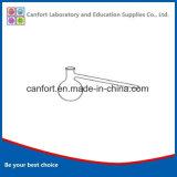Material de vidro de laboratório balão de destilação, Boro 3.3