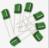 Cl11 Pei Condensador de película de poliéster de color verde fabricado en China