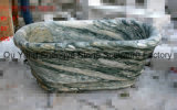 Vasca da bagno di marmo del marmo della vasca