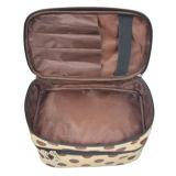 Sac cosmétique de coton de PVC d'article de toilette promotionnel d'unité centrale pour la poche, sacs bon marché de cadeau