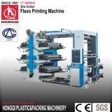 Los colores multi de la máquina de impresión flexografía